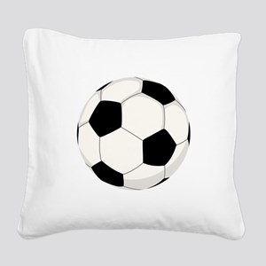 Soccer Ball Square Canvas Pillow