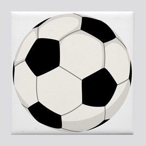 Soccer Ball Tile Coaster
