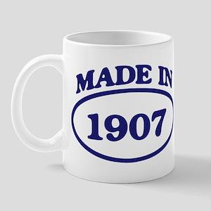 Made in 1907 Mug