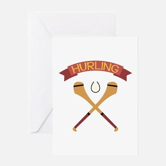 Hurling 1 Greeting Cards