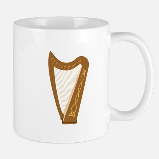 Celtic Harp Mugs