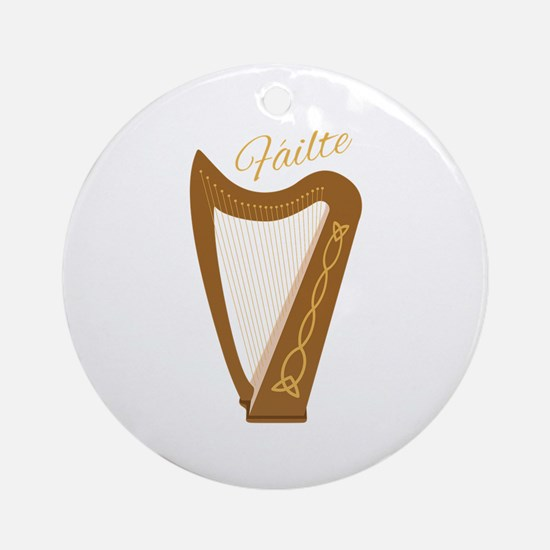 Failte Ornament (Round)