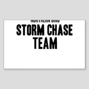 Northern Ohio Storm Chase Tea Sticker (Rectangular