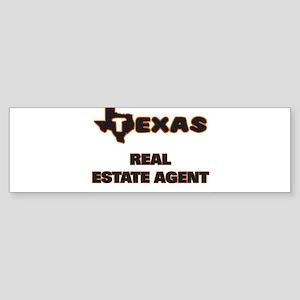 Texas Real Estate Agent Bumper Sticker