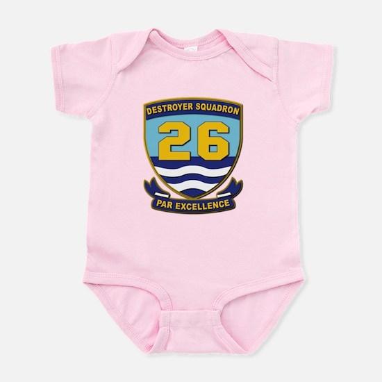 Destroyer Squadron 26 - withOut Te Infant Bodysuit