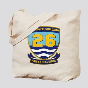 Destroyer Squadron 26 - withOut Text Tote Bag