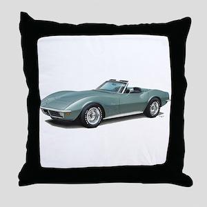corvette convertible stingray Throw Pillow