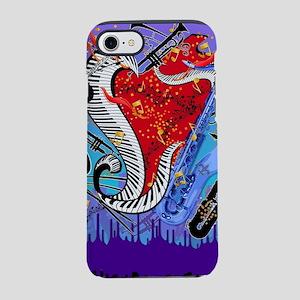 Musical Instruments, Jazz Art, iPhone 7 Tough Case