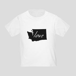 Love Washington Toddler T-Shirt