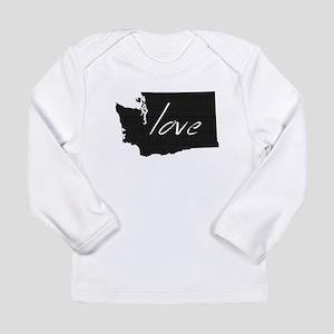 Love Washington Long Sleeve Infant T-Shirt