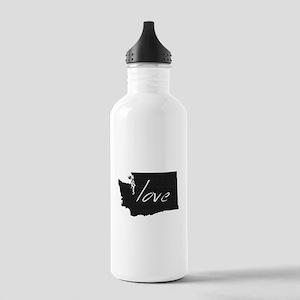 Love Washington Stainless Water Bottle 1.0L