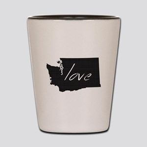 Love Washington Shot Glass