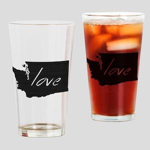 Love Washington Drinking Glass