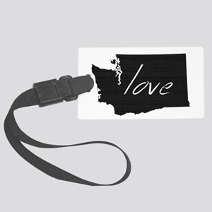 Love Washington Large Luggage Tag
