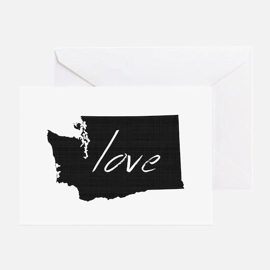 Love Washington Greeting Card