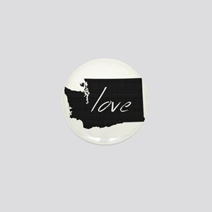 Love Washington Mini Button