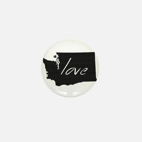 Love Washington Mini Button