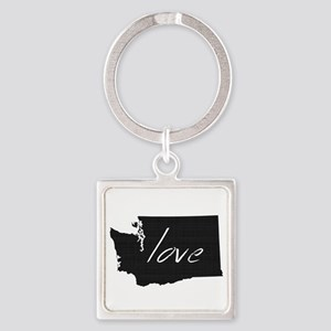 Love Washington Square Keychain