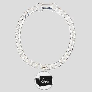 Love Washington Charm Bracelet, One Charm