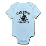 Camping Is In Tents Body Suit