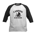 Camping Is In Tents Baseball Jersey