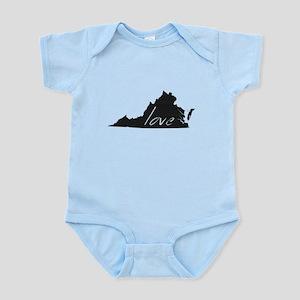 Love Virginia Infant Bodysuit