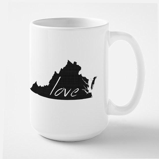 Love Virginia Large Mug
