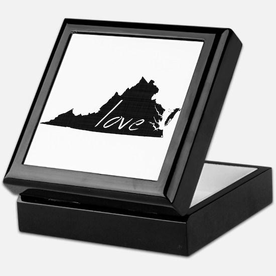 Love Virginia Keepsake Box