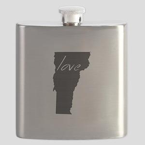 Love Vermont Flask