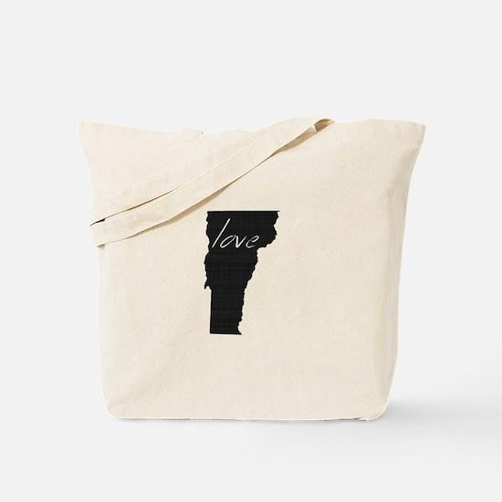 Love Vermont Tote Bag