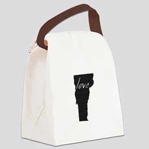 Love Vermont Canvas Lunch Bag
