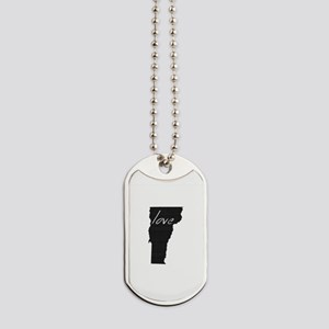 Love Vermont Dog Tags