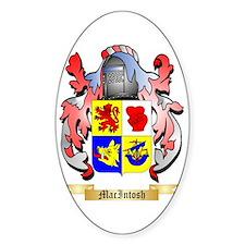 MacIntosh Sticker (Oval)