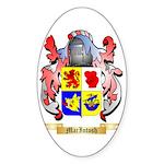 MacIntosh Sticker (Oval 50 pk)
