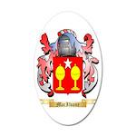 MacIlvane 35x21 Oval Wall Decal