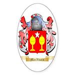 MacIlvain Sticker (Oval 50 pk)