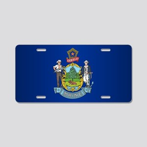 Maine (F15)b Aluminum License Plate