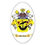 MacIan Sticker (Oval 50 pk)