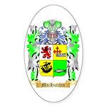 MacHutchin Sticker (Oval 50 pk)
