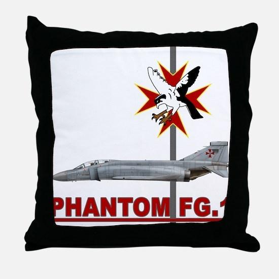 1435 Flight Throw Pillow