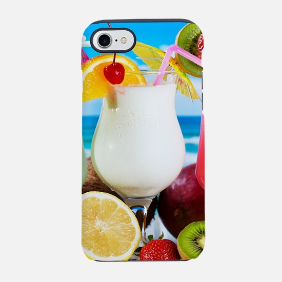 Exotic Summer Cocktails iPhone 7 Tough Case