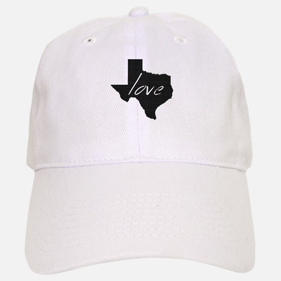 Love Texas Baseball Baseball Cap