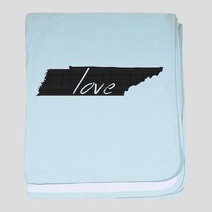Love Tennessee baby blanket