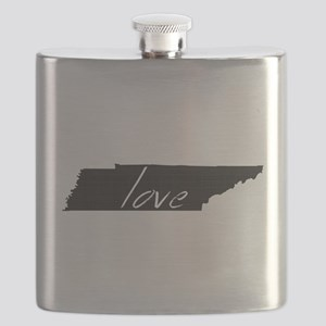 Love Tennessee Flask