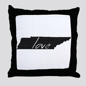 Love Tennessee Throw Pillow