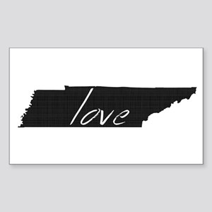 Love Tennessee Sticker (Rectangle)