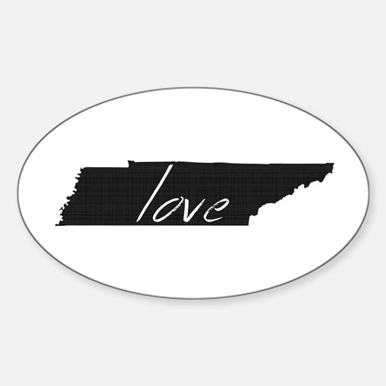 Love Tennessee Sticker (Oval)