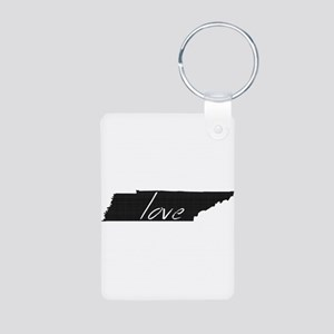 Love Tennessee Aluminum Photo Keychain