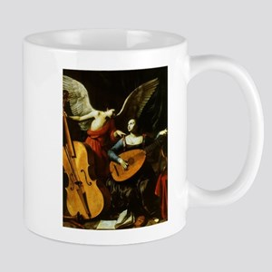 Saint Cecilia and the Angel by Saraceni Mugs