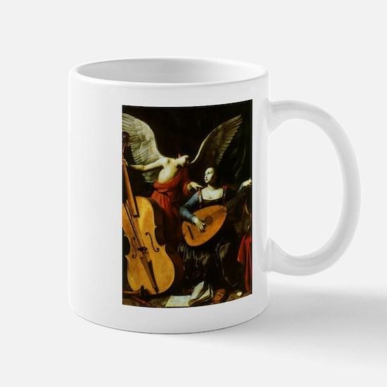 Saint Cecilia and the Angel by Saraceni Mugs